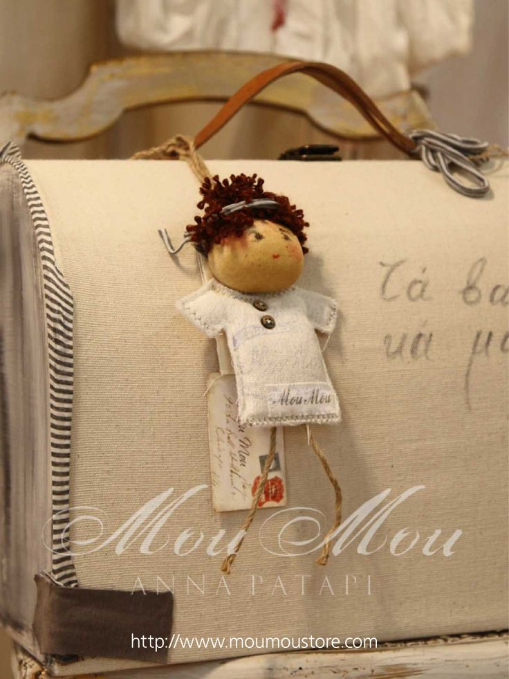 "Christening boxes for baby boy  ""COLLECTION MOUMOU by Anna Patapi"""