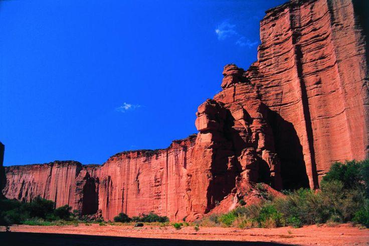 La Rioja - Parque Nacional Talampaya, más info de viajes en www.facebook.com/viajaportupais