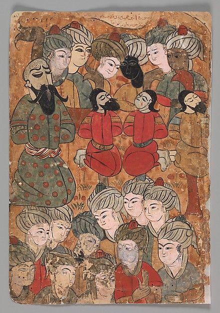 """The Execution of the Brahmins"", Folio from a Kalila wa Dimna"