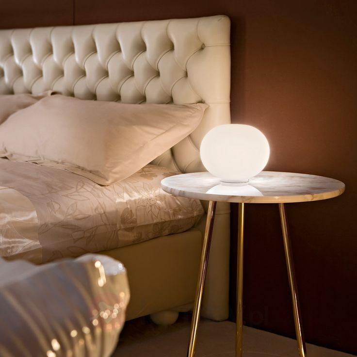 Biała lampa stołowa GLO-BALL BASIC ZERO 3510119