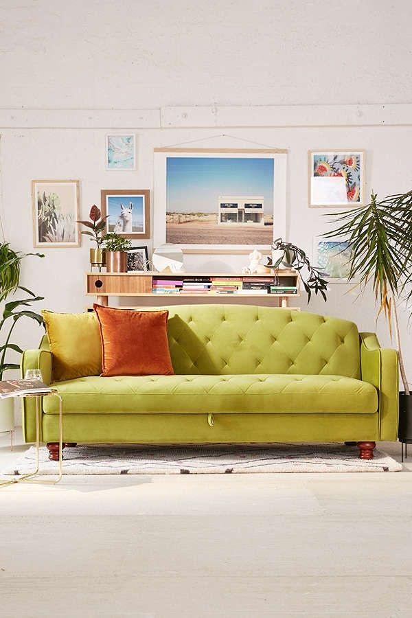 Adeline Storage Sleeper Sofa, sale $499.99 + 30-40% off