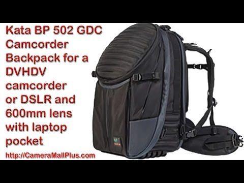 Kata BP 502 GDC Camcorder Backpack for a DVHDV camcorder or DSLR and 600...