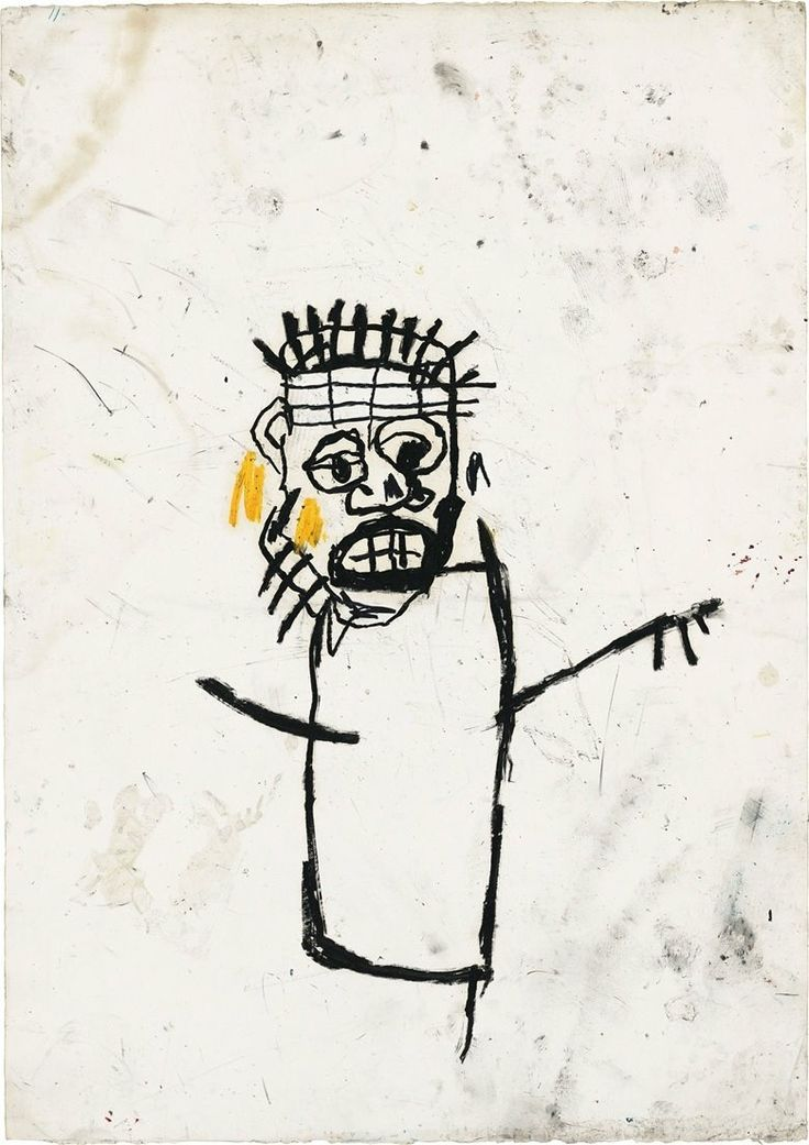 Jean-Michel Basquiat – Untitled, 1982.