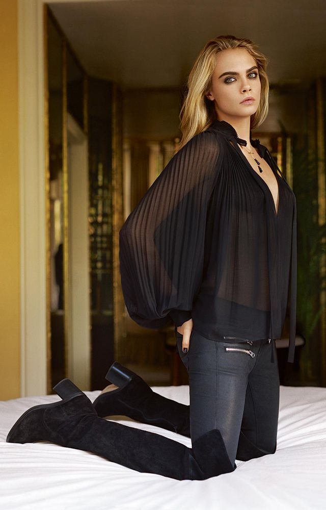Topshop x Cara Delevingne : les premières images de la campagne de la rentrée 2014   Glamour