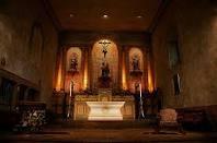 santa barbara mission.  serenity.