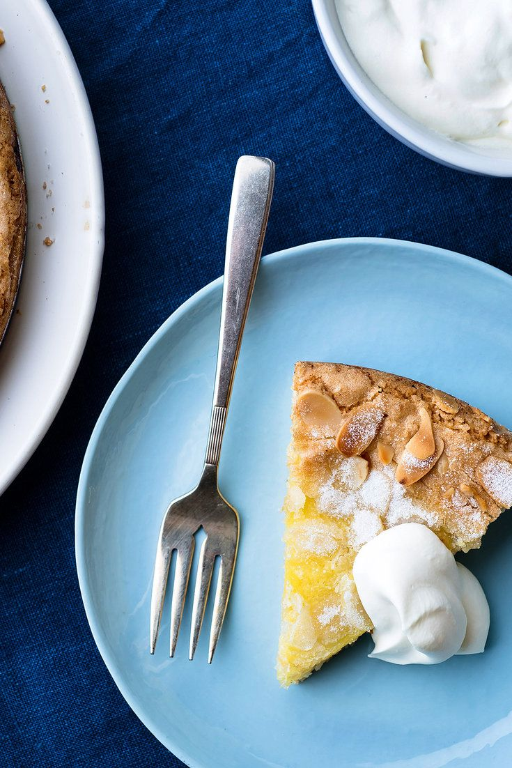 NYT Cooking: This buttery almond cake with lemon curd baked inside is like the ultimate citrus tart, without the heartbreak of pie crust. It's fancy enough to be served as a dinner party dessert, yet substantial enough to be served with Sunday brunch. (Bonus: you'll have several tablespoons of lemon curd left over. It's delicious on toast or pancakes.)