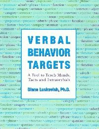 Verbal Behavior Targets: A Tool to Teach Mands, Tacts & Intraverbals: can save you tons of time and energy by providing teachers with comprehensive word lists that can be used for both assessment & teaching. This is a vital resource for anyone teaching language to a student with Autism or speech and language delays.  This week only, you can save 15% on Verbal Behavior Targets by entering the Promo Code BLOGVBT9 at checkout. *Offer expires on August 14, 2012 at 11:59 pm EST.