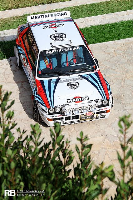 Lancia Delta Integrale Evo Martini  Raphaël Belly: this used to be my favorite car. Still is amazing