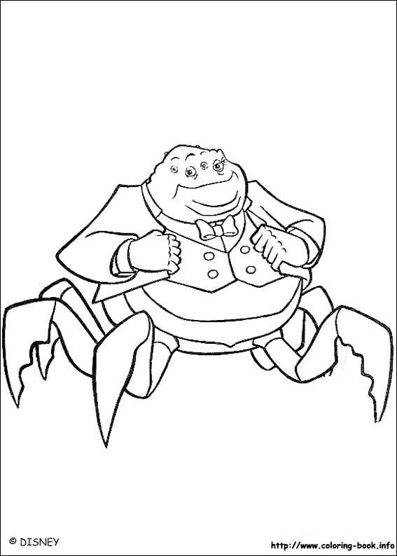 Stunning Monsters Inc Coloring Book 61 Monsters inc coloring picture