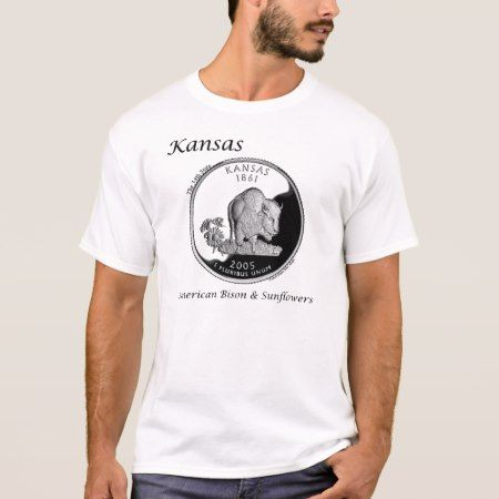 State Quarter - Kansas T-Shirt - tap to personalize and get yours