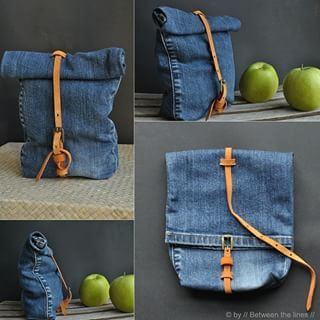 DENIM UP CYCLED BAG -  on www.funcraftskids.com/tags/insta  Featuring (between the lines)  #denim #upcycle #homestyle #fashion #denimupcycle #fblogger #homedecor #kbnmoms #handmade #jeansupcycling #clothesupcycling