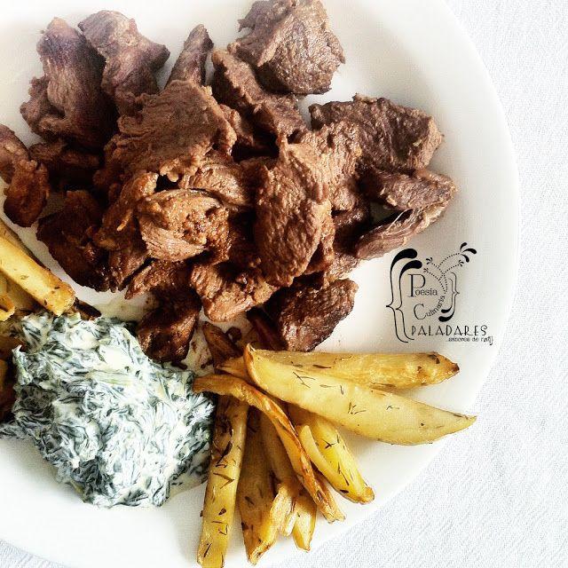 Paladares {Sabores de nati }: Agnello in salsa di acciughe / Cordero en salsa de anchoas