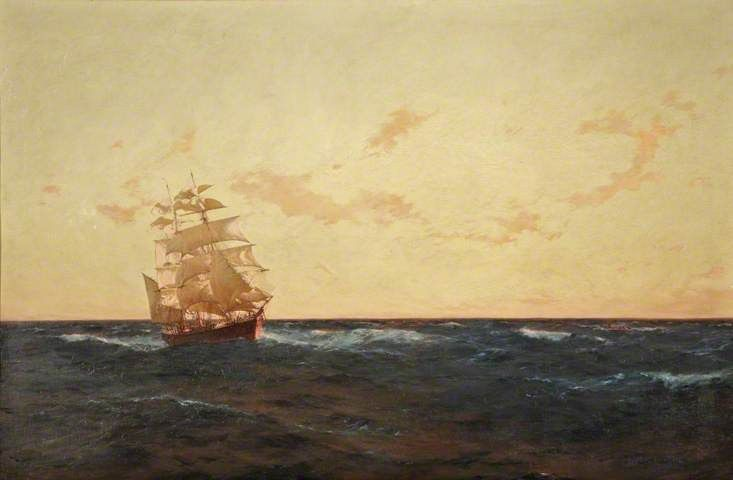 Thomas Jacques Somerscales A Man Overboard