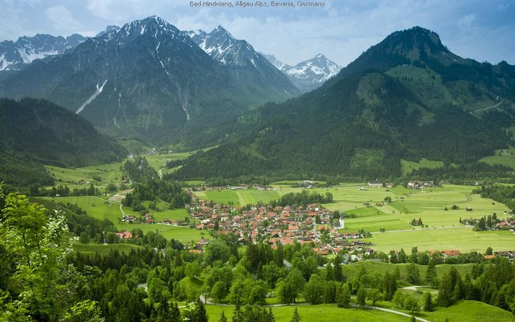 Bad Hindelang, Allgau Alps, Bavaria, Germany  #mountains