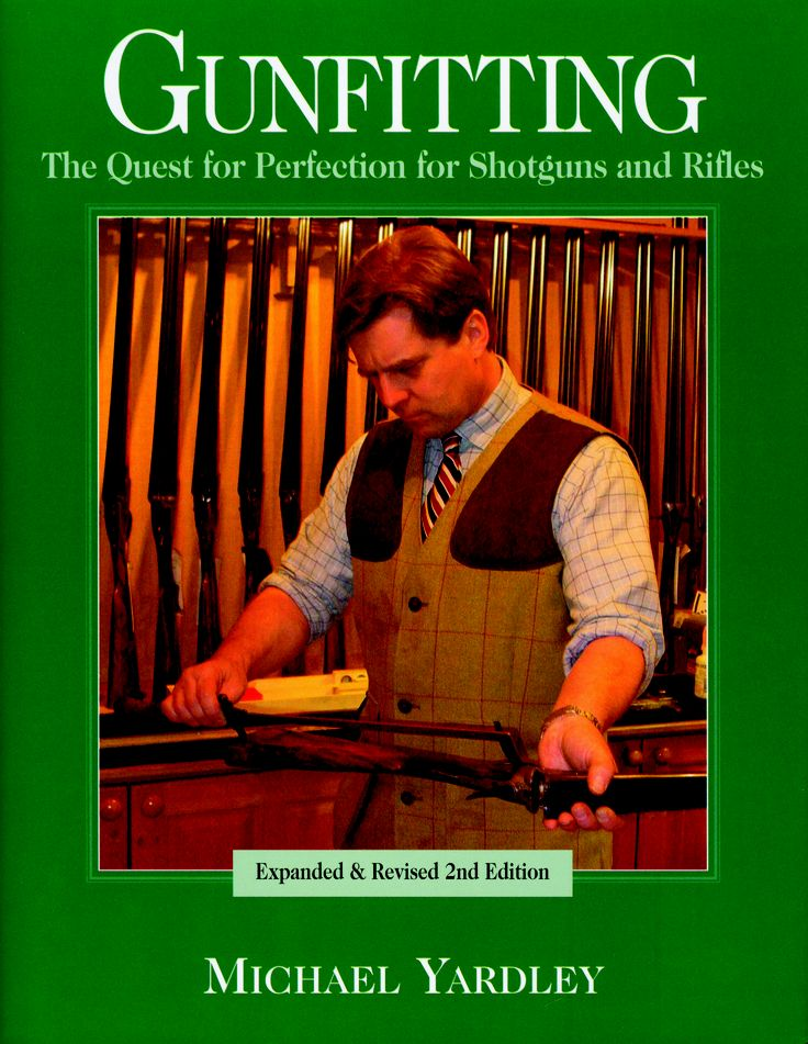Gunfitting by Michael Yardley | Quiller Publishing. A mine of information covering shoot vision and eye dominance, stocks for game and clay shooting, pattern plates and more! There's also some fascinating historical material that explores how the modern gun stock evolved from the poles and planks of the first hand-held firearms to the highly sophisticated designs of the modern era. #gun #gunmaking #fitting #plates #history