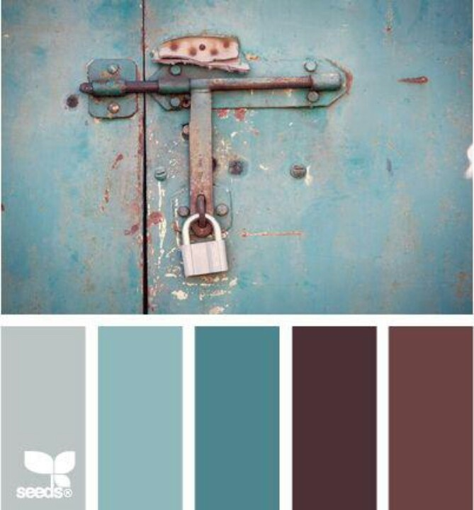 Master bedroom colors colors to love by pinterest for Burgundy and turquoise living room