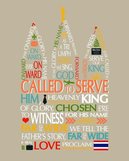 missionary :)