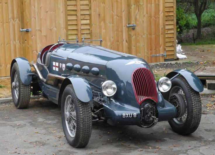 1936 Eight Liter Supercharged V12: Bentley-Royce Special