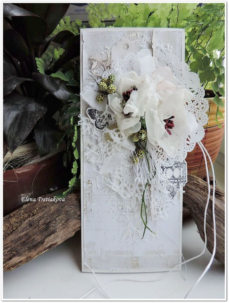 wedding card by Elena Tretiakova - Scrapbook.com