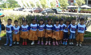 PAUD BUNGA MATAHARI: La festa delle scuole Paud, organizzata dal Kement...