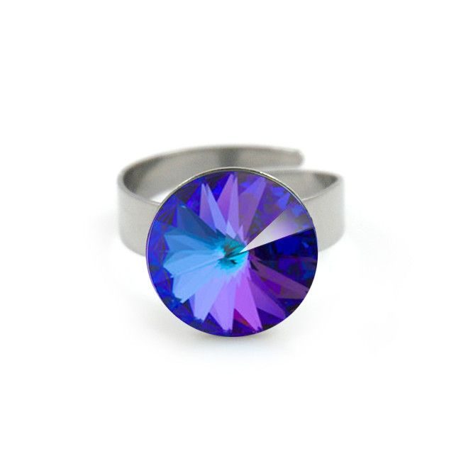 #applepiepieces #bluemonday Polestar XL ring heliotrope from Applepiepieces
