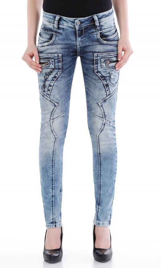 Cipo Baxx Womens Jeans WD200 - CIPO & BAXX - AUSTRALIA