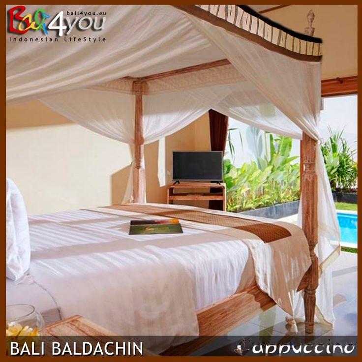 Baldachin Cappuccino, Baldachin, Moskitonetz,  Baldachin 1001 Nacht , Bett, Betthimmel, baldaquin, Moustiquaire,