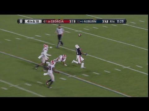 Auburn vs. Georgia 2013 - Winning TD (Auburn Announcers)