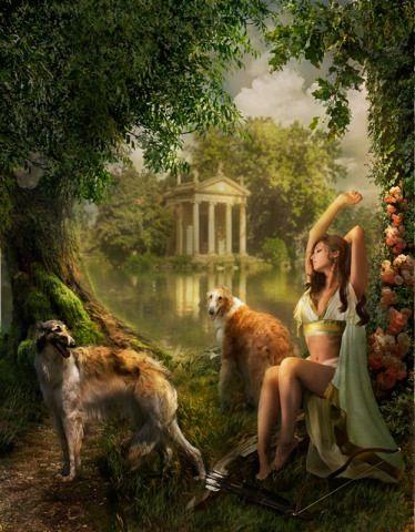 Diana - Celtic goddess of nature