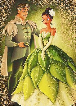 Designer Fairy Tale Collection: Tiana and Prince Naveen