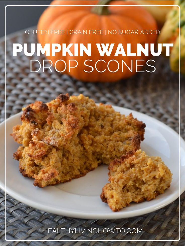 Pumpkin Walnut Drop Scones | Recipe | Scones, Pumpkins and Pumpkin Pie ...