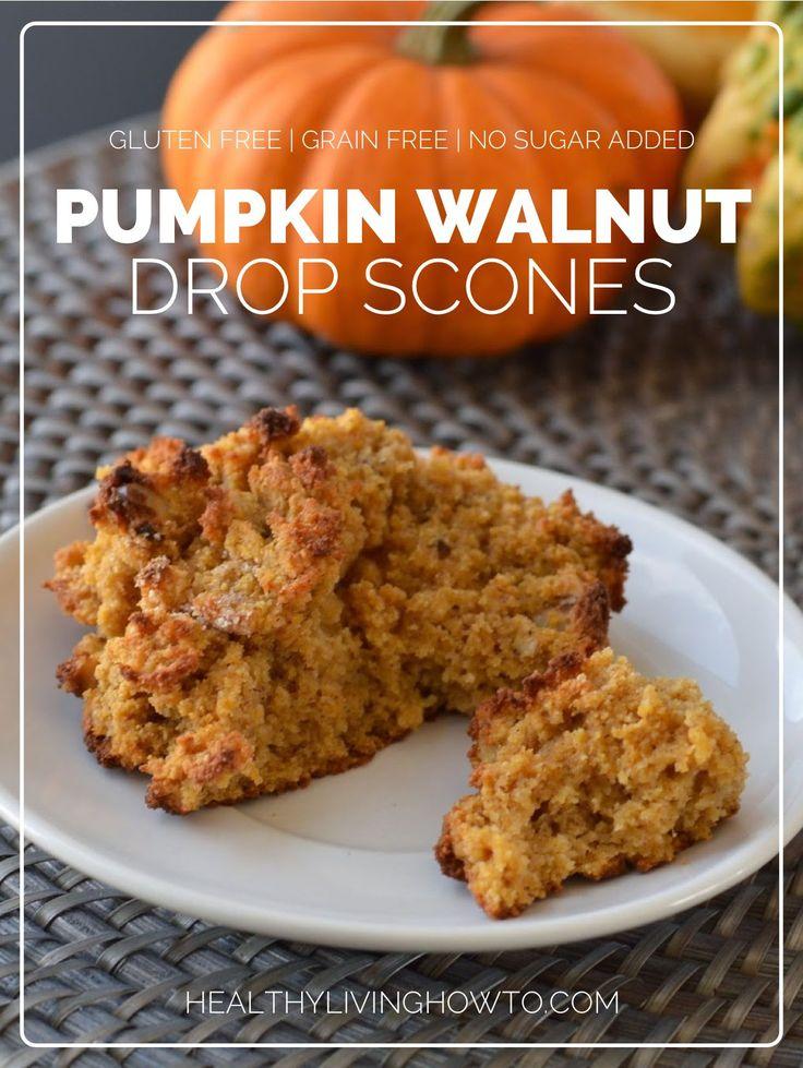 Pumpkin Walnut Drop Scones | Recipe | Scones, Pumpkins and Pumpkin Pie ...