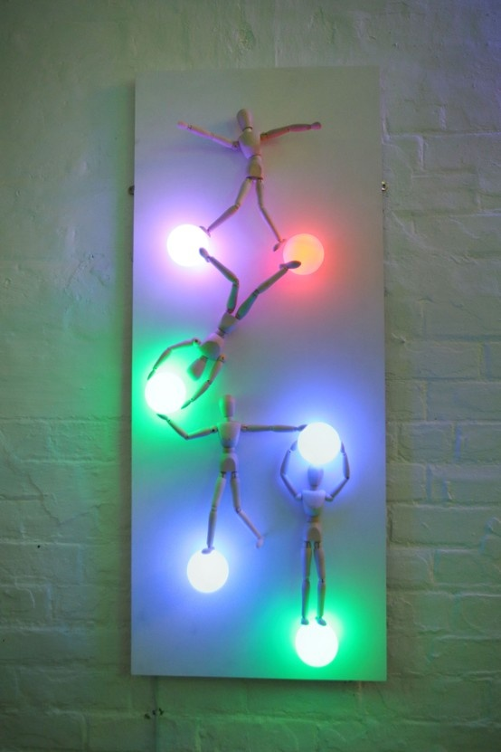 Art in the Arch@Sleeperz - an exhibition of light based contemporary art