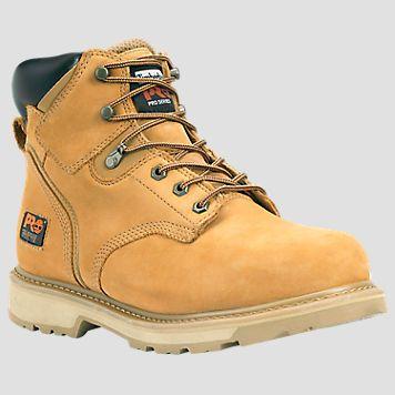 "Men's Timberland PRO® Pit Boss 6"" Steel Toe Work Boots"