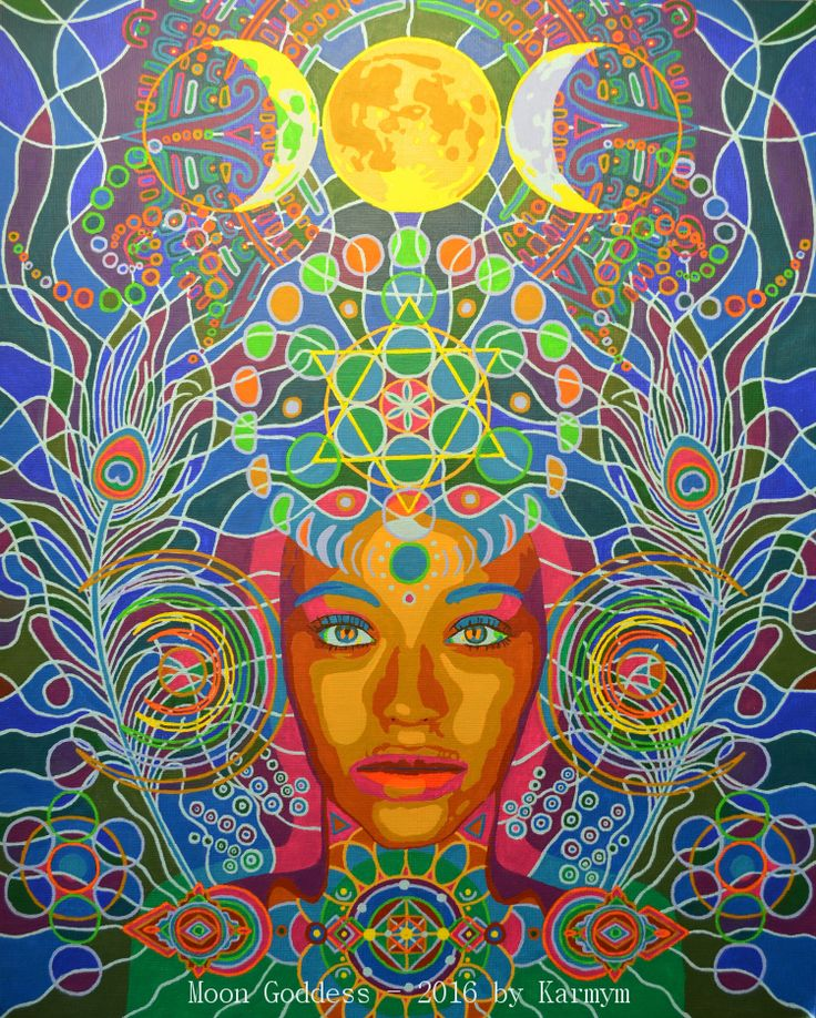 Moon Goddess - 2016 by #Karmym