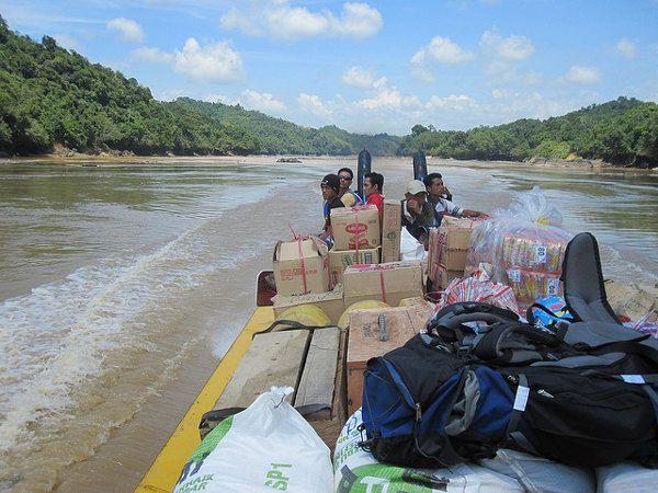 Batang Rejang, de Amazone van #Borneo (foto: Ben Beiske) #Sabah #Maleisië  http://www.zuidoostaziemagazine.com/de-belangrijkste-bezienswaardigheden-van-maleisie
