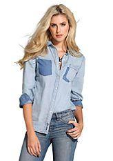 джинсовая блузка - Поиск в Google
