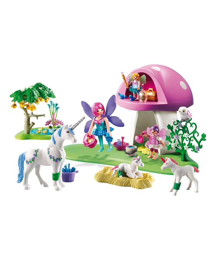 Another great find on #zulily! Fairies & Toadstool House Play Set by PLAYMOBIL #zulilyfinds