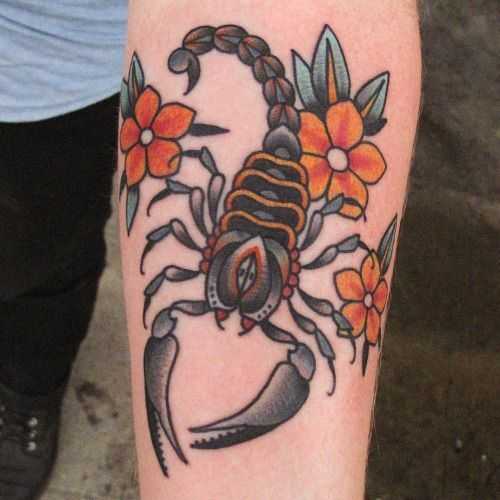 Ideas de Tatuajes de Escorpiones o Alacranes