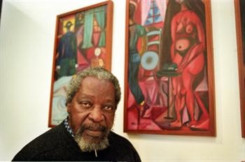 The Mozambican painter Malangatana passed away at the age of 74, in the Hospital Pedro Hispano (Matosinhos, Portugal).    Malangatana Valente Ngwenya (6 June 1936 - 5 December 2010) was born in Matalana, a village of the district of Marracuene, located in the outskirts of at the time called Lourenço Marques, present Maputo.    His father was a miner in South Africa and his mother embroided trousers and would sharpen the teeth of local young girls, a trend at the time.