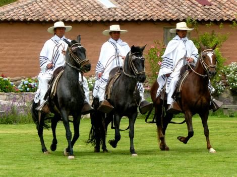 #Luxury #hotel - #Sol y#Luna #Lodge and #Spa in #Peru's #Sacred #Valley, with #Chalan and #horses.