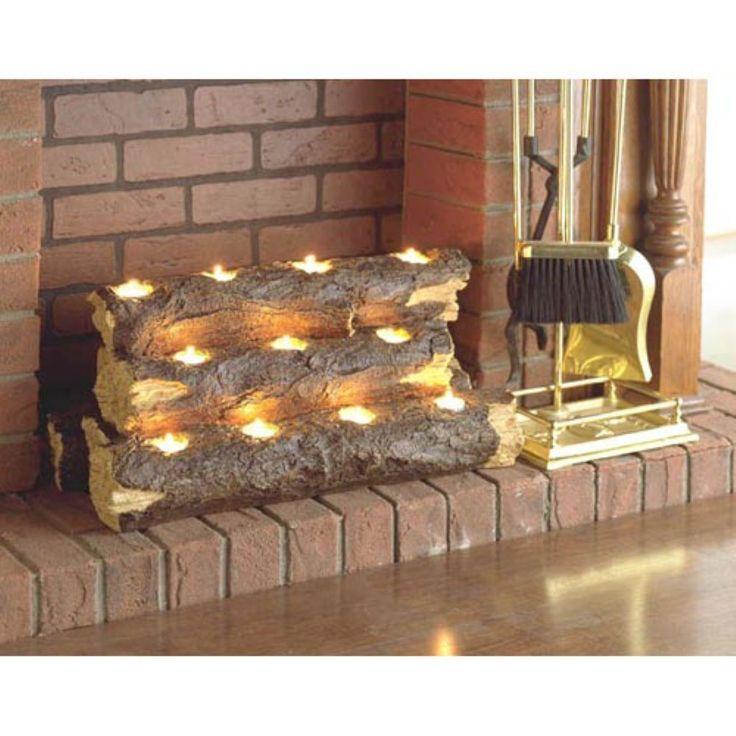 Candle Fireplace Insert top 25+ best fireplace candelabra ideas on pinterest | luminara