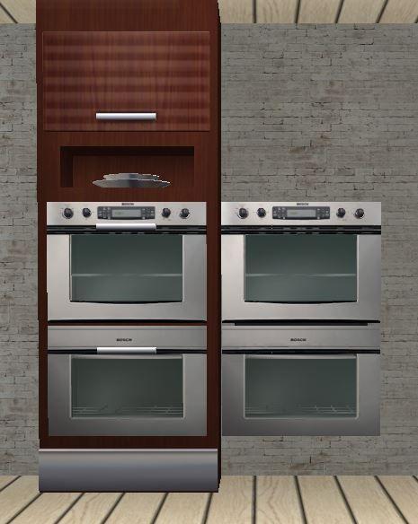 SDA Louisiana kitchen add on - slaved Epos oven and LA