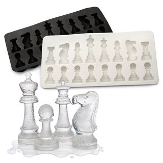 Chess ice cube tray...cool                                                                                                                                                                                 More
