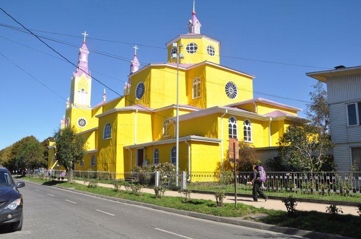 Superbe église de Castro, Chiloe