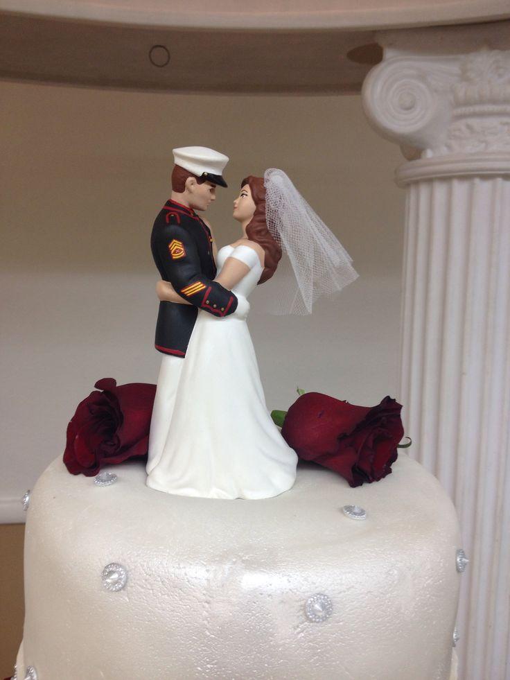 Marine Corps Cake Topper