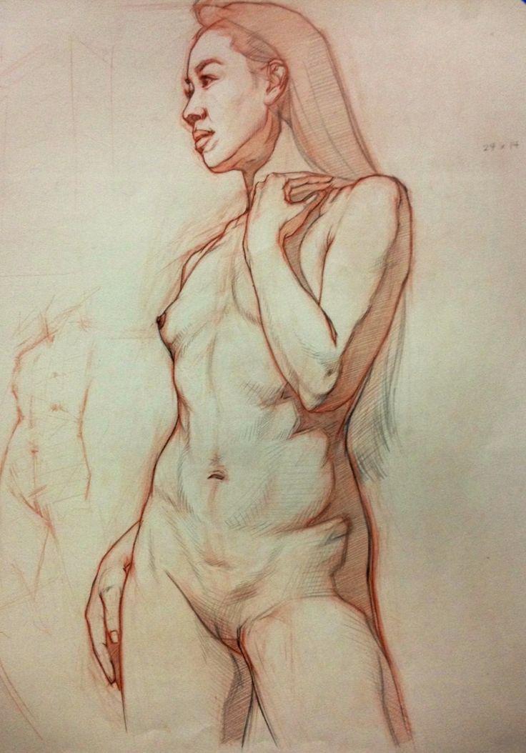Drawings of erotic figures-4269