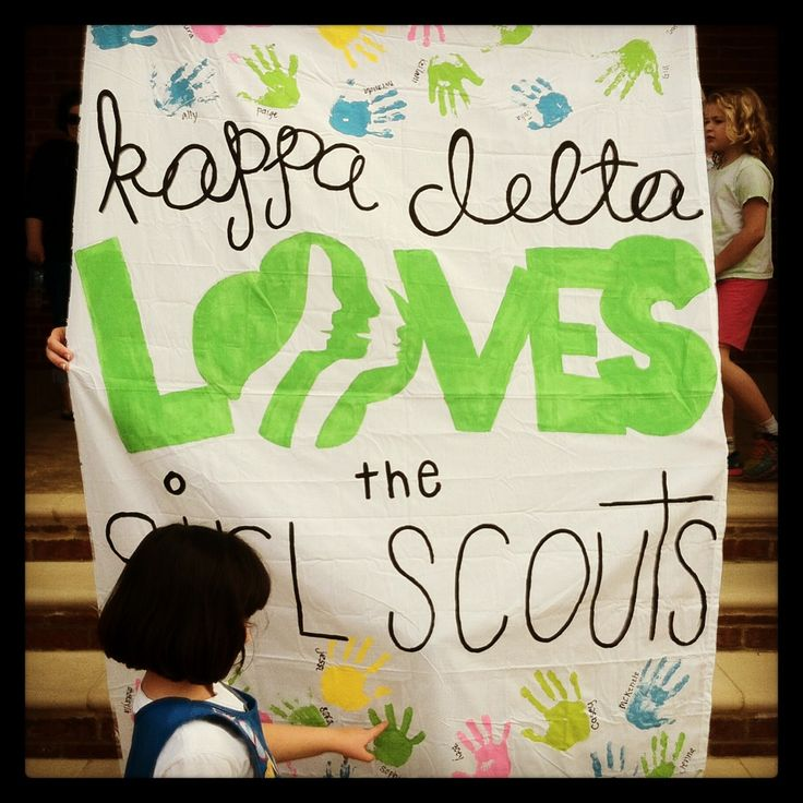One philanthropy of Kappa Delta is the Girl Scouts of America.