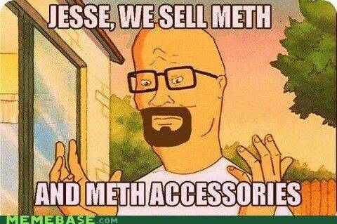 Breaking bad/king of the hill