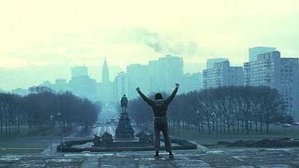 "Run ""Rocky Steps"" (the 72 stone steps before the entrance of the Philadelphia Museum of Art)!"